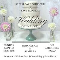 Wedding Cake and Wedding Flowers in Kingston ON