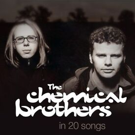 4 x tickets to The Chemical Brothers, 5th October, Ally Pally