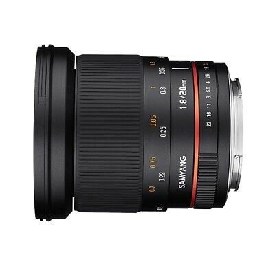 Samyang 20mm F1.8 ED AS UMC Lens For Sony E Mount