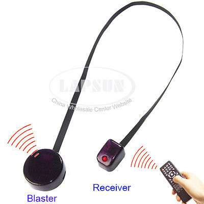 IR Infrared Remote Extender Control Repeater Emitter Extender Receiver Blaster A
