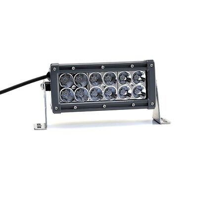 Lightforce 6'' (152mm) dual row light bar - 5w Spot - CBLEDBD6S