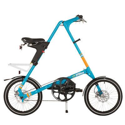 STRIDA SX Azul de Cielo 18 Pulgadas Bicicleta Plegable Bicicleta de Ciudad