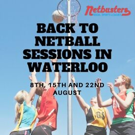 Back to Netball Sessions in Waterloo