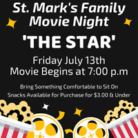 Free Family Movie Night ~ animated kids movie 'The Star'
