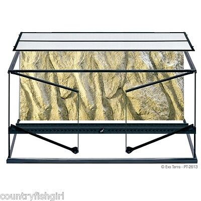 "Exo Terra Natural Terrarium Advanced Reptile Habitat Large Wide 36"" x 18"" x 18"""