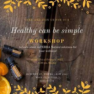 Healthy can be Simple - doTERRA Oils Intro Class Nowra Nowra-Bomaderry Preview