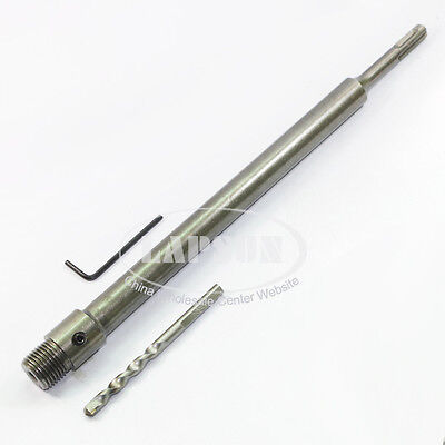 1pcs 350mm Sds Plus Core Shank Shaft Drill Bit Arbor For Impact Wall Hole Saw