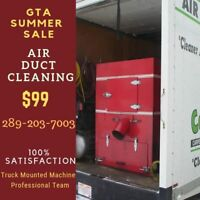 Air Duct & vents Cleaning GTA$99 Brampton Mississauga North York