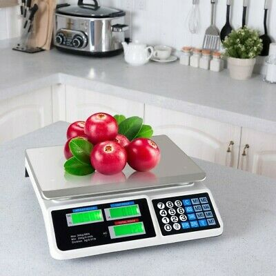 66 Lbs Digital Weight Scale Retail Food Count Scale