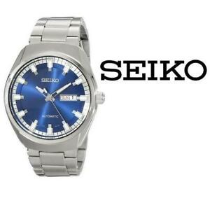USED MENS SEIKO RECRAFT WATCH SNKN41 257014476 Automatic Blue Dial Stainless Steel JEWELLERY JEWELRY
