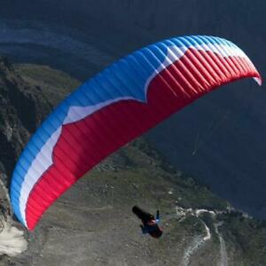 Paraglider with Light Weight Harness and Stuff Sack