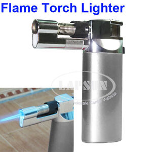 Auto Ignition Adjustable Flame Butane Gas Jet Torch Lighter Soldering Gun Tool A