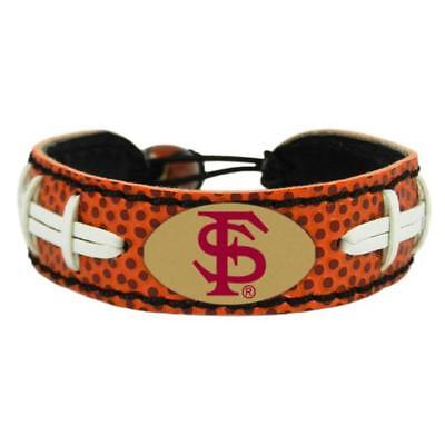 Florida State Seminoles NCAA Classic Football Leather Bracelet ()