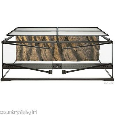 "Exo Terra Natural Terrarium Advanced Reptile Habitat Low 36"" x 18"" x 12"""