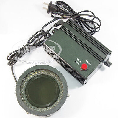 78 Led Bulbs Polarized Polarizer Stereo Ring Microscope Light Illuminator Lamp