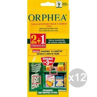 Set 12 ORPHEA Anti Tarme Food 2+1 Accessory For Cabinet