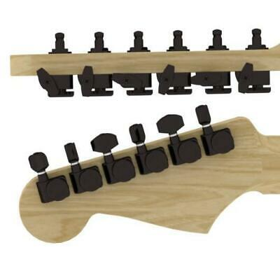 Hipshot® Locking Guitar Tuners~Fender® Directrofit~2 PIN~6 Inline~Black~21:1~New