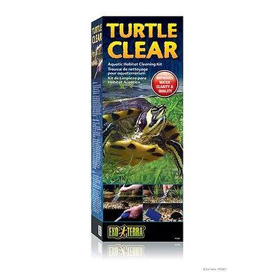 Exo Terra Turtle Clear Reptile Terrarium Aquarium Aquatic Habitat Cleaning Kit
