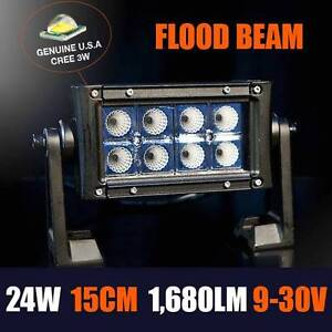 24W 15cm LED (U.S. CREE CHIPS) FLOOD LIGHTBAR Warwick Southern Downs Preview