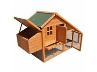 Rabbit Hutch/Chicken Coop & Large Dog Travel Cage