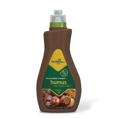 Abono líquido ecológico FERTIBERIA HUMUS 1L mejora la calidad del suelo