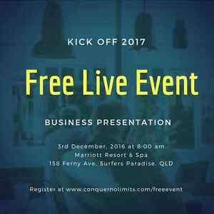 Kick Off 2017 - Free Business Seminar Surfers Paradise Gold Coast City Preview