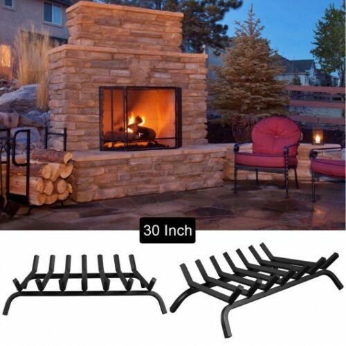 Iron Fireplace Log Grate Firewood Burning Rack For Multi Scene Application New