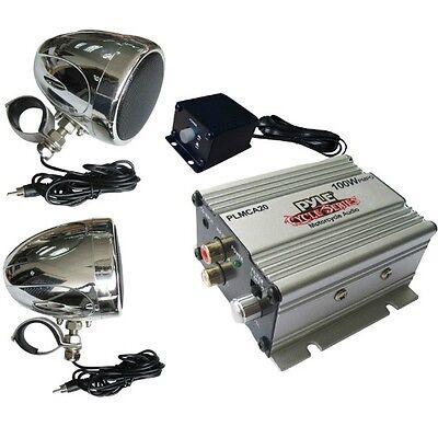 Amplificador Y Arcas Pyle PLMCA20 X Moto Bicicleta Eléctrica Custom de Carretera