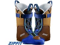 Ski Boot Liners : ZipFit Grand Prix leather liner - size 26.5