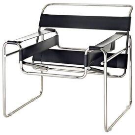Wassily Armchair based on Marcel Breuer design