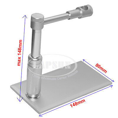 10-12mm Adjustable Metal Usb Tv Pen Microscope Camera Ring Holder Stand Support