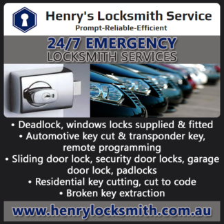 Henry's locksmith service