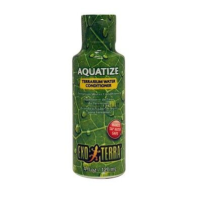 Exo Terra Aquatize Terrarium Water Conditioner - 120 ml  Terrarium Water Conditioner