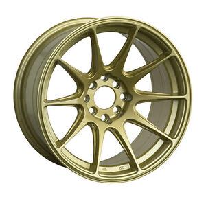 XXR 527 18x8 5x108,5x112 42et Gold Wheels Rims
