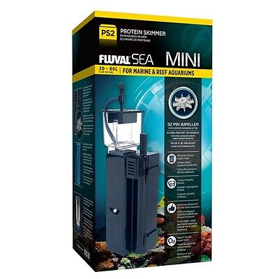 Fluval Sea Mini Protein Skimmer PS2 Marine & Reef 5-20 US Gallon Black 14324