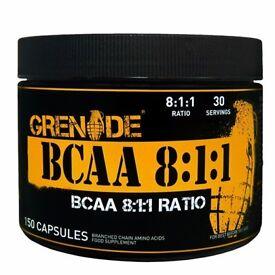 BCAA 8:1:1 (150 Capsules) **RRP £29.99**