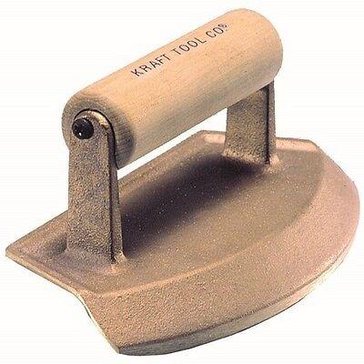 Kraft Tool Concrete Chamfer Tube Edger Bronze 16-inch