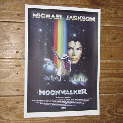 Moonwalker Michael Jackson Repro Film POSTER