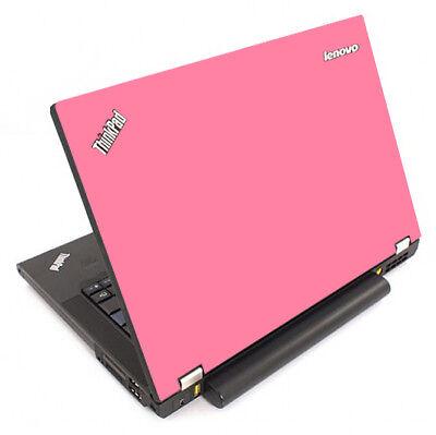 PINK Vinyl Lid Skin Cover Decal fits IBM Lenovo ThinkPad T44