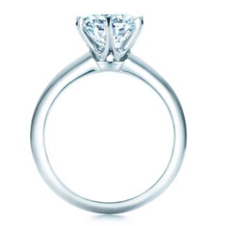 Tiffany & Co Diamond Ring 1.01ct HVS1