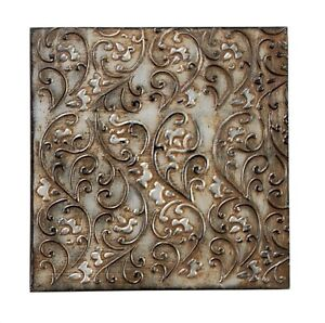 Unique Metal Wall Decor - 3 Colors to Choose From