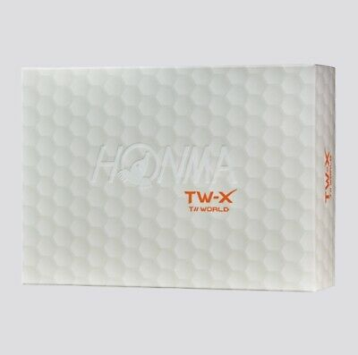 Honma T //WORLD TW-X Urethane Golf Ball White Color One Dozen