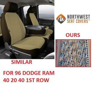 NEW NORTHWEST 40 20 40 SEAT COVER D028 202102733 1ST ROW 96 DODGE RAM 1500