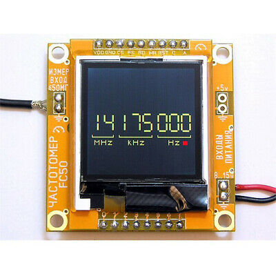 Frequency Counter Meter 1hz-50mhz Tcxo High Quality Ready Module