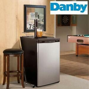 NEW DANBY 5.2 CU FT. KEG COOLER - 124950576 - BEER - ALCOHOL - PARTY - HOSTING - CHILL 'N TAP