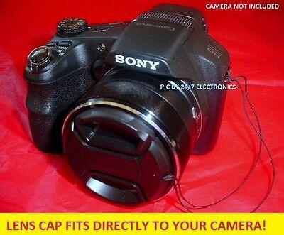 Lens Cap Directly To Camera Sony Dsc-hx100 Hx 100 Dschx100 + Holder/keeper