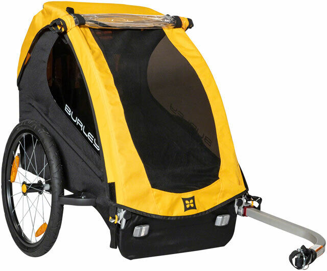 Burley Bee Child Trailer - Single Child, Yellow