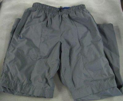 Used,  Nike Men's Gray Convertible Nylon Pants Reversible Blue Shorts Sz M Outdoor for sale  Fredonia