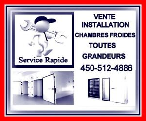 chambre froide WOW # GROS INVENTAIRE # APPELEZ-MOI !