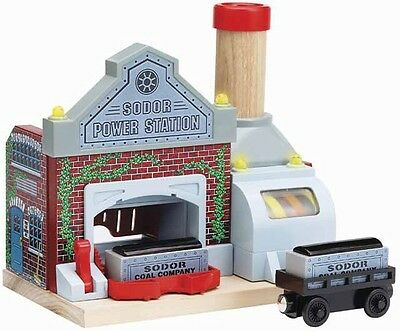 Thomas & Friends Wooden  SODOR POWER STATION Learning Curve  LC99376 3+ 2005